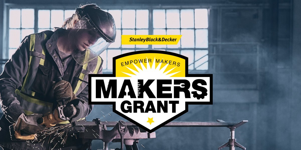 The @Marlins are supporting @StanleyBlkDeckr help close the trade skills gap! SB&D is committing up to $25M in grants over the next 5 years to fund nonprofit through the Empower Makers Global Impact Challenge.  Apply now at EmpowerMakers.com! Due by 10/31.  #MakerMonth