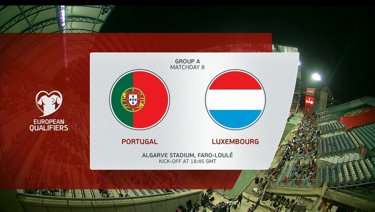 Full match: Portugal vs Luxembourg