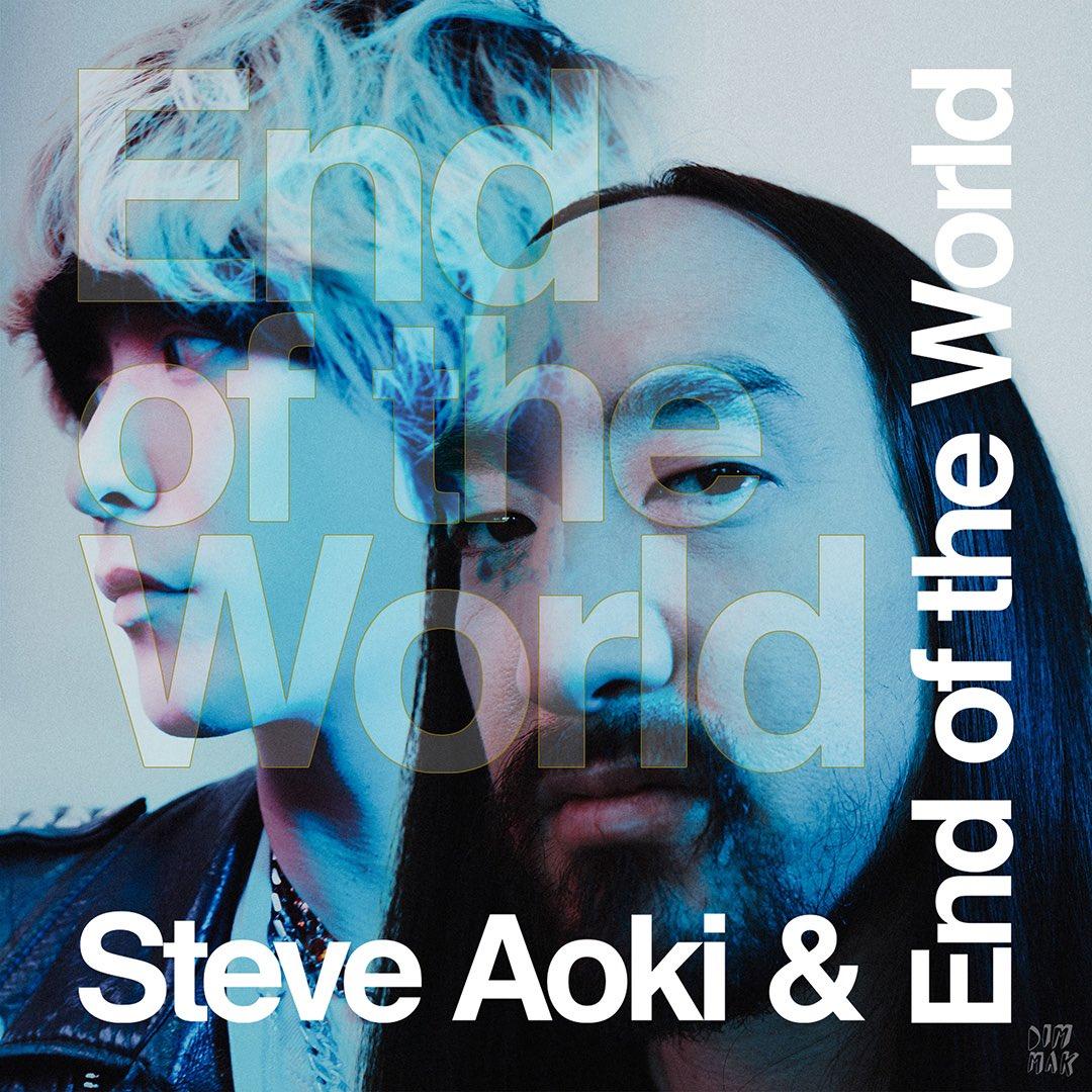 """End Of The World"" // OUT FRIDAY @EndOfTheWorld & @steveaoki ✨ 🔗 ffm.to/-endoftheworld"