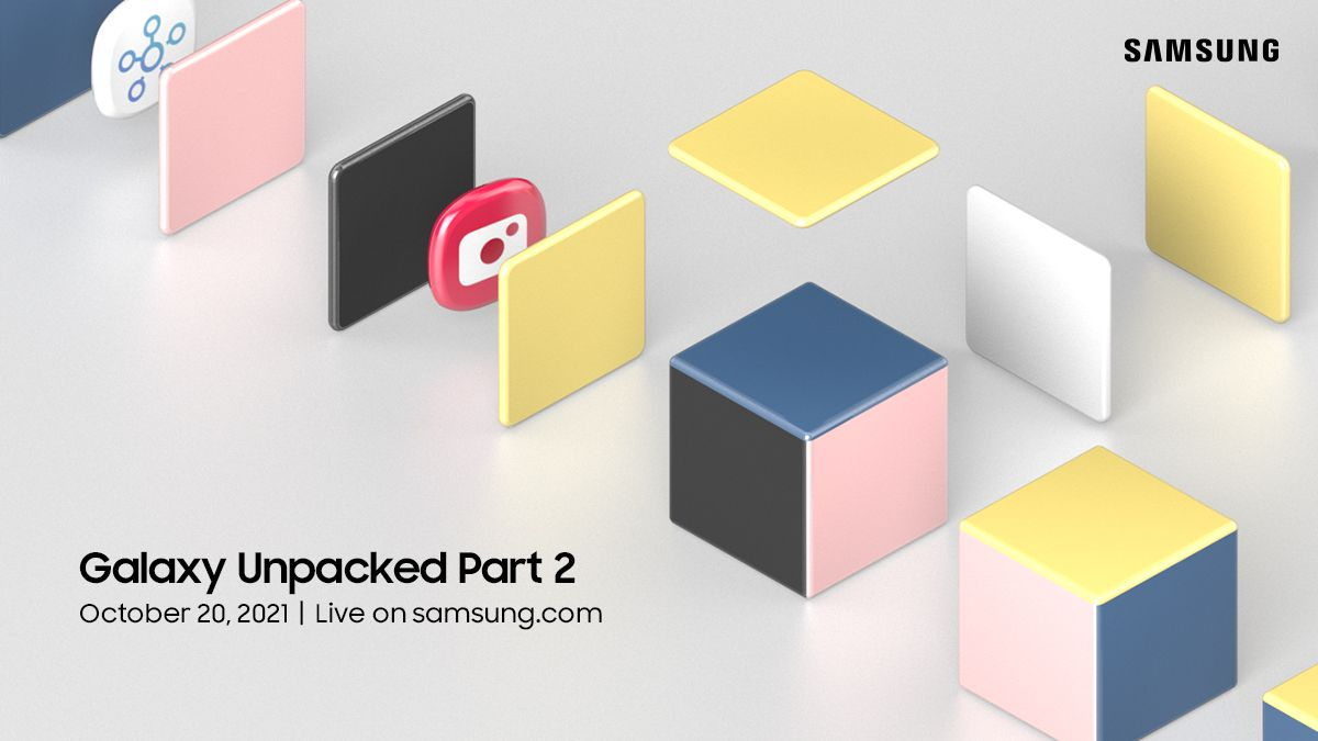 Samsung announces Unpacked 2 event for Wednesday Oct 20th, right after Apple and Google