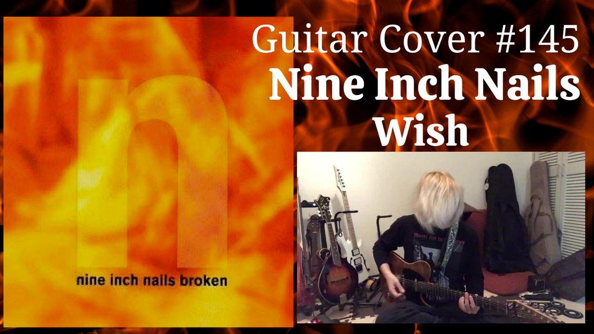 Nine Inch NailsのWishを弾いてみた動画です~✌️音を止める事によってその間にも時間の音があるような、時間ごとストップするような、そこを意識して弾いてみました♪#音楽好きと繋がりたい#NineInchNails#Wish
