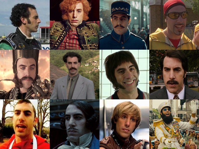 Happy Birthday Sacha Baron Cohen. Man who can foretake and ace any roles serious or comedy.