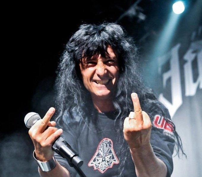 Happy 61 birthday to Anthrax singer Joey Belladonna!