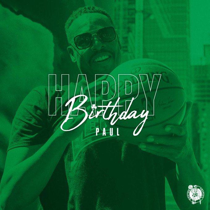 Happy Birthday Paul Pierce!