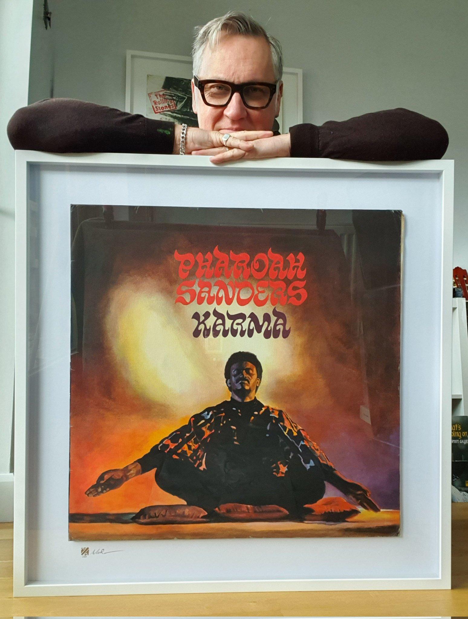 Happy 81st birthday to the great Pharoah Sanders. Saxophonist extraordinaire.