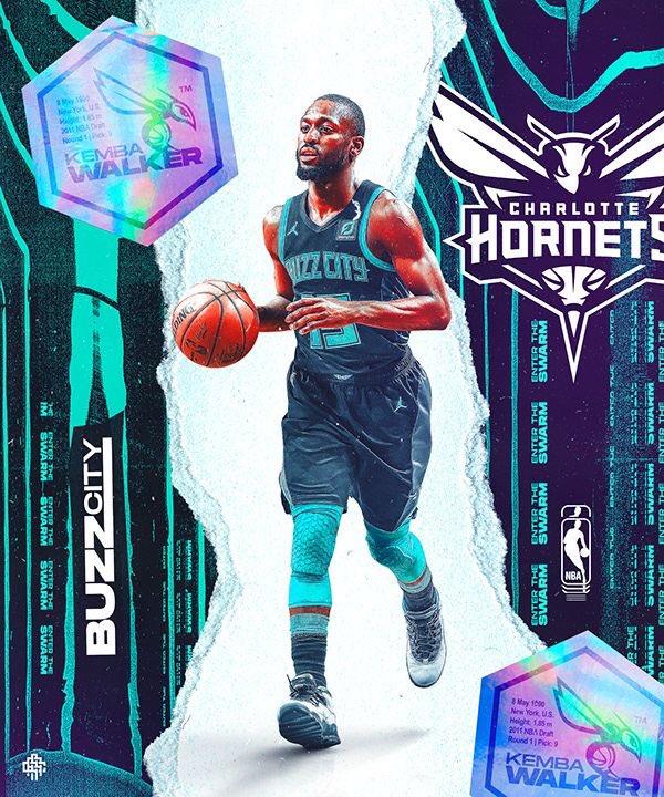 Her franchiseın efsane oyuncuları Hornets  Kemba Walker  2x NBA All Star 1x All NBA Hornets tarihinin: En çok sayı atan En çok dakika alan En çok Saha içi isabeti bulan En çok üçlük atan  En çok serbest atış atan 1. Oyuncusu