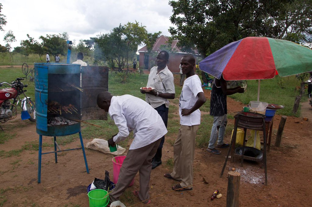 Roasts, chapatis, 'rolexes', etc. These are some of the off-farm activities we engage in to promote economic empowerment at @okerecity. #rurallivesmatter #ruraldevelopment