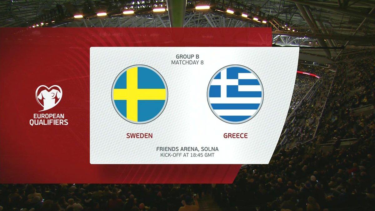 Sweden vs Greece Highlights 12 October 2021