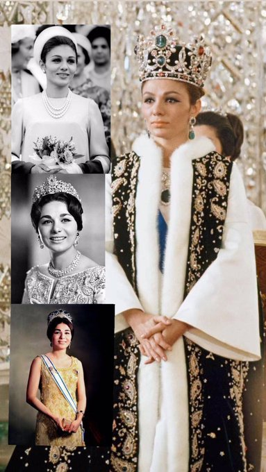 A very Happy birthday to Her Majesty Queen Farah Pahlavi (mother of my homeland) We all love you