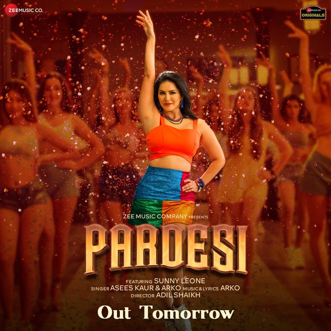 This #Pardesi is gonna make your head turn with her moves and get you to on the dance floor to groove