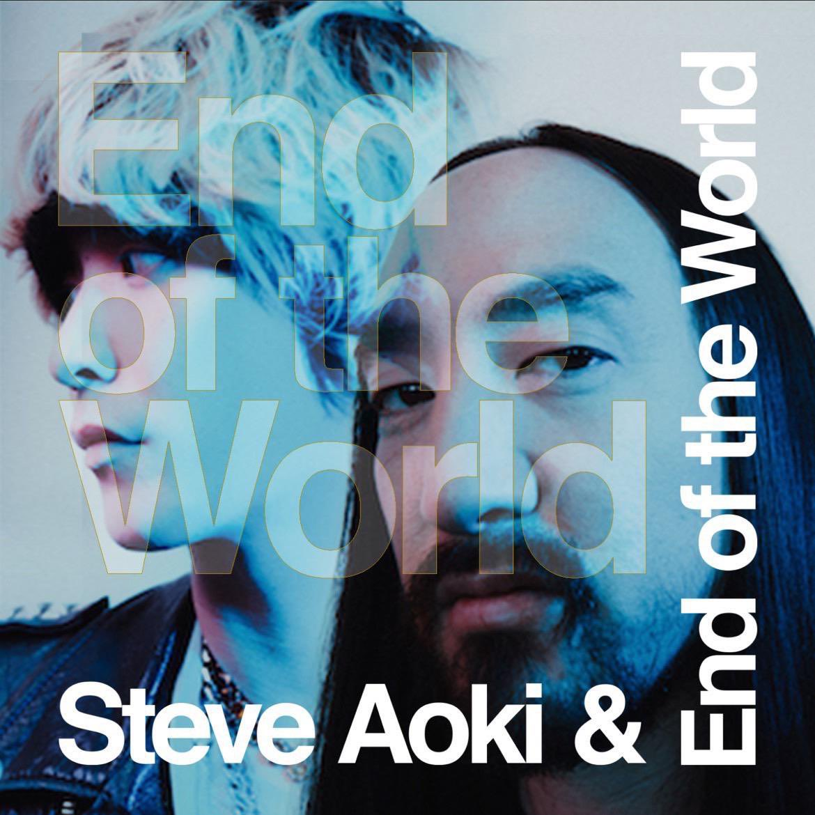 END OF THE WORLD @EndOfTheWorld x @steveaoki Out this Friday 10.15🍾🍾