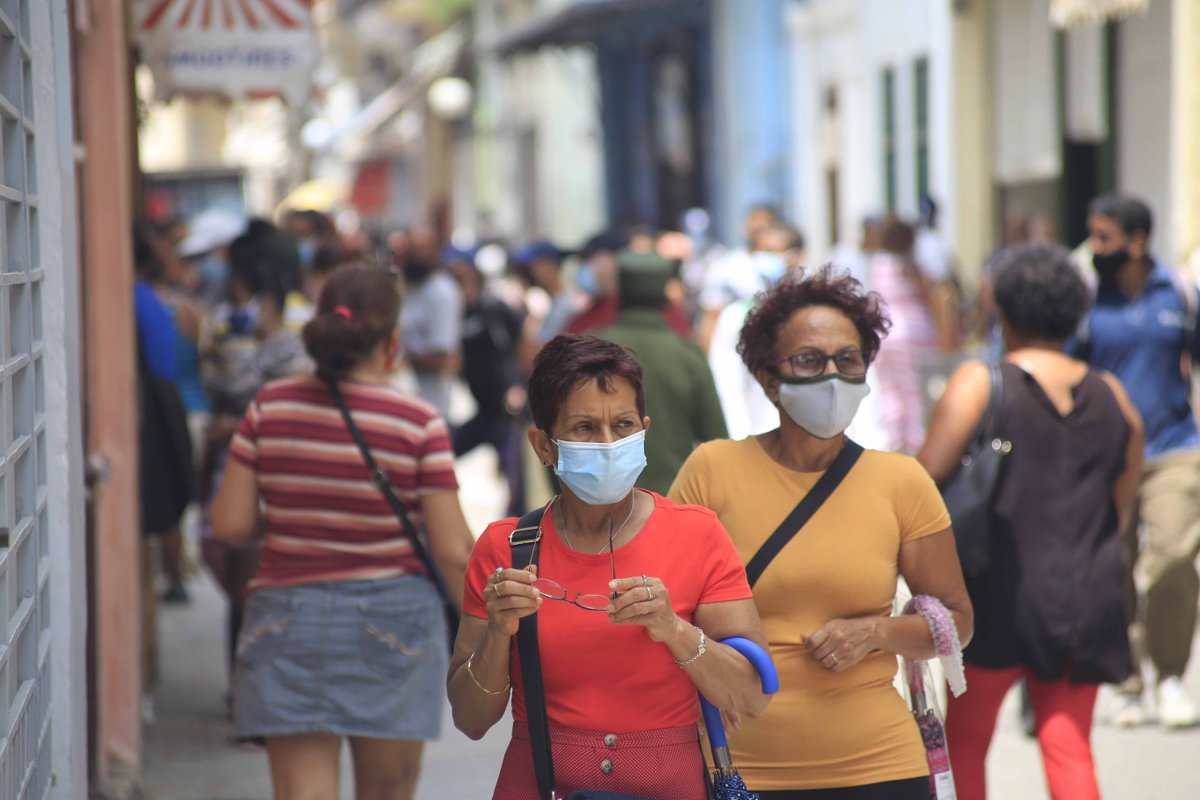 Over 85% of Cubans have received at least one shot of the Cuban-produced Soberana or Abdala vaccines. Cuba is #3 worldwide in percent of population partially vaccinated. The U.S. is #48✍️