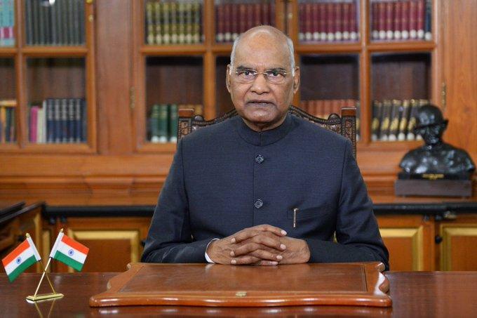 राष्ट्रपति राम नाथ कोविंद 14 और 15 अक्टूबर को लद्दाख और जम्मू और कश्मीर का भ्रमण करेंगे