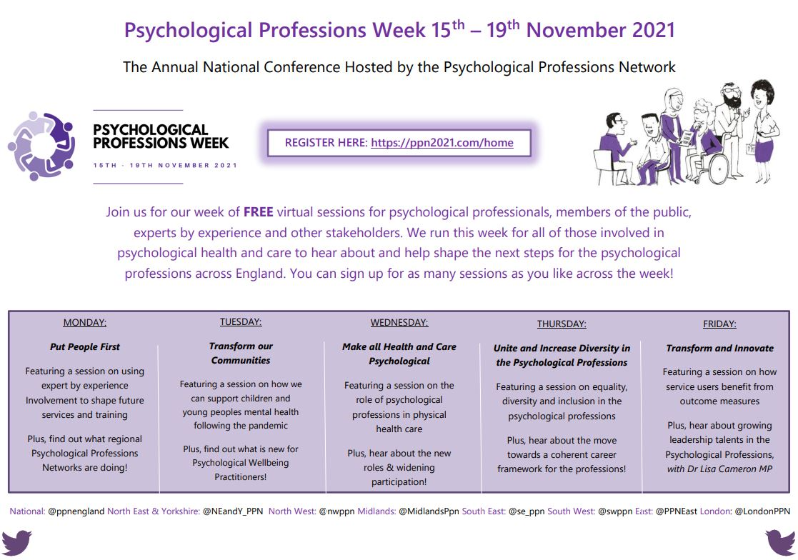 Psychological Professions Network South West