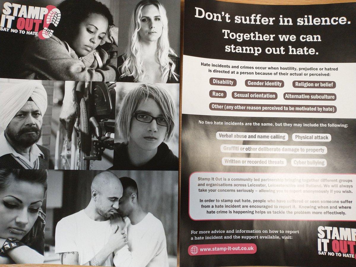 #HateCrimeAwarenessWeek 6516
