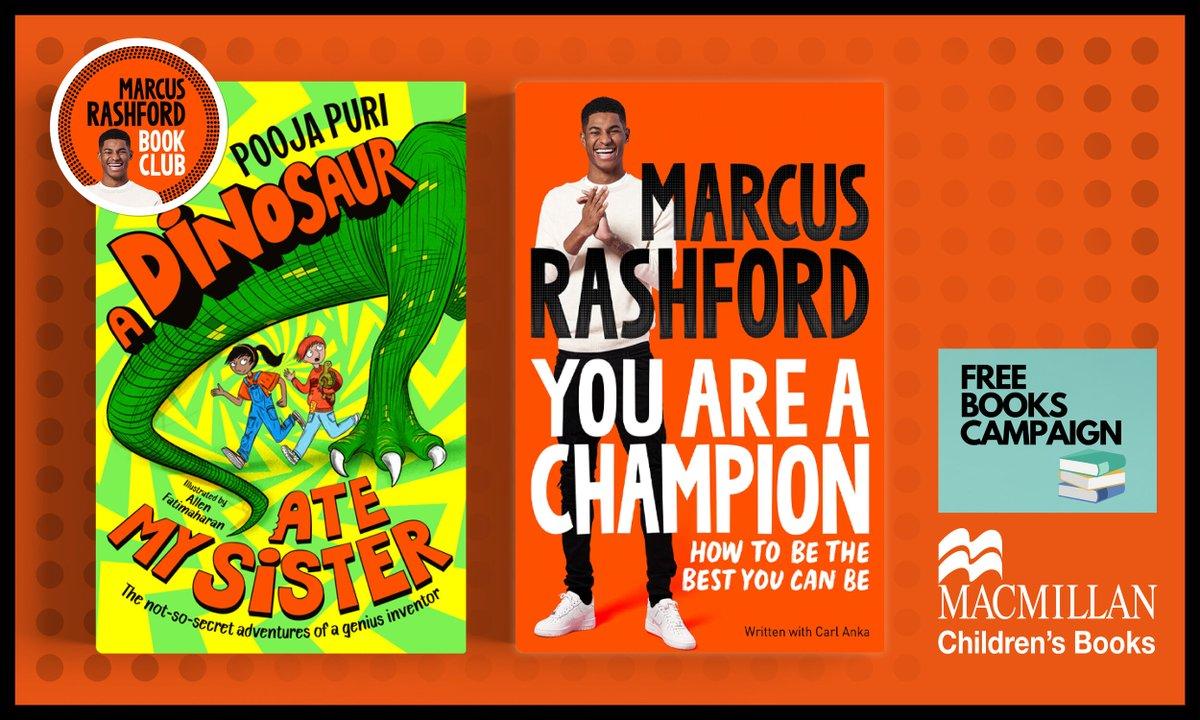 We are loving the books! Thank you @MarcusRashford @MacmillanKidsUK