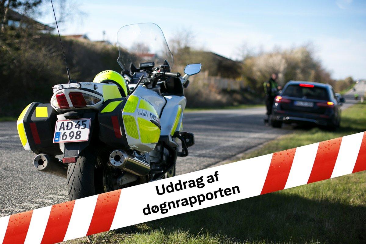 Brandtekniske undersøgelser afsluttet i Egebjerg, Nykøbing Sj., stor hastighedskontrol på Køgevej ved Roskilde/Gadstrup, og fyrværkeri afslørede en af mange narkobilister. Læs mere i uddraget fra døgnrapporten. #politidk https://t.co/Ggtzvluxjs https://t.co/E6LAQQgBVa