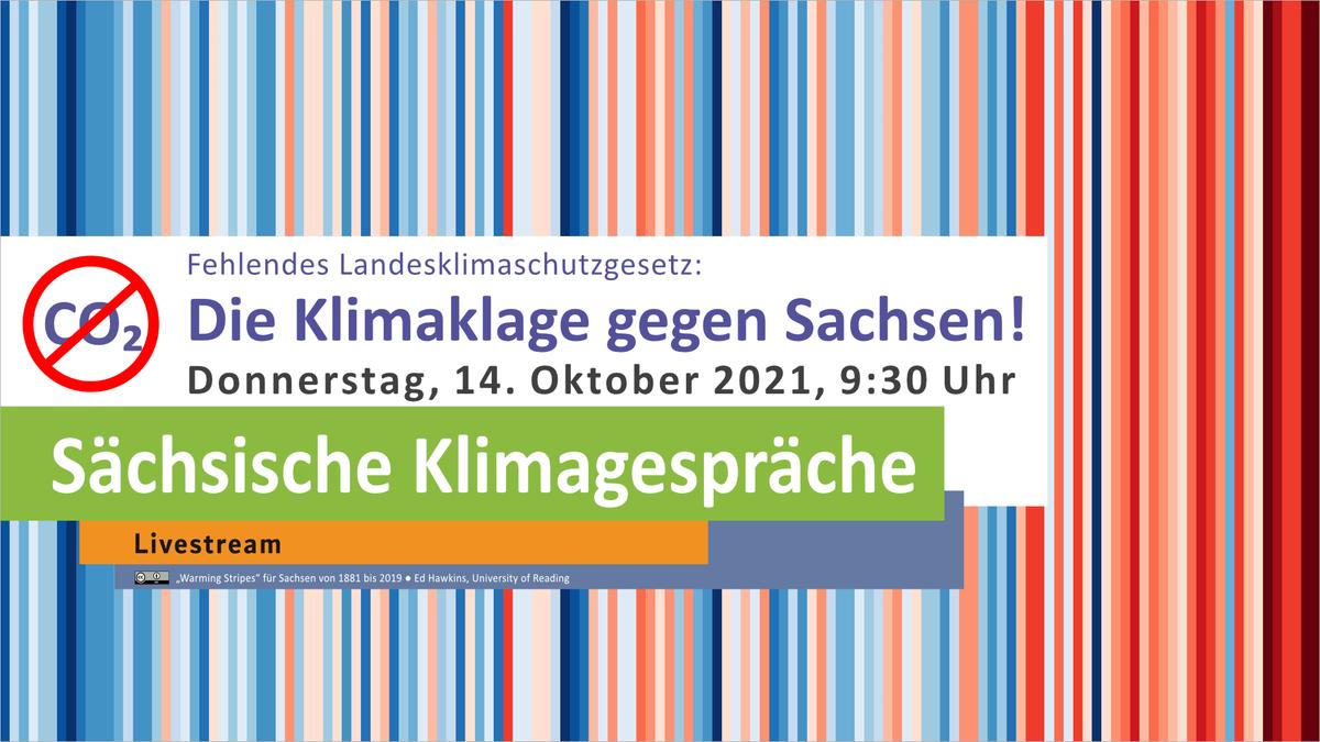 Wie geht #Sachsen mit der #Klimaklage um? Dazu spricht morgen 9.30 Uhr unser Energie-Staatssekretär @gerdlippold mit @sascha_m_k und @FelixEkardt bei den Sächsischen Klimagesprächen. https://t.co/YzPpfbtFhq