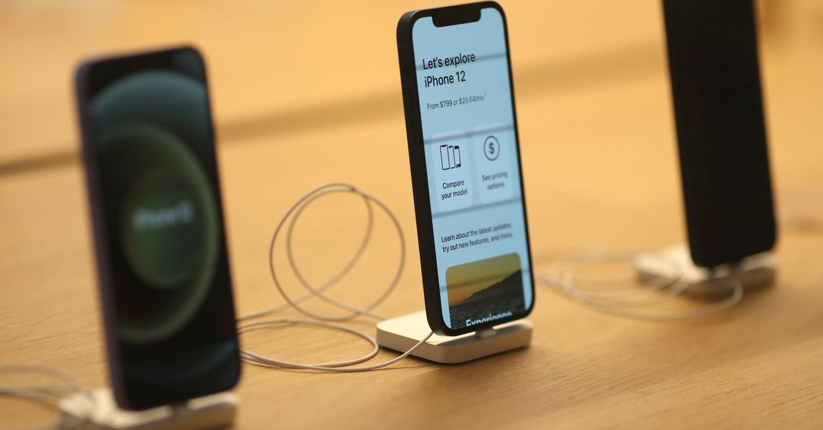 Apple likely to cut iPhone 13 production due to chip crunch -Bloomberg News