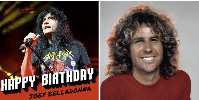 Happy Birthday to Joey Belladonna and Sammy Hagar (The Red Rocker)