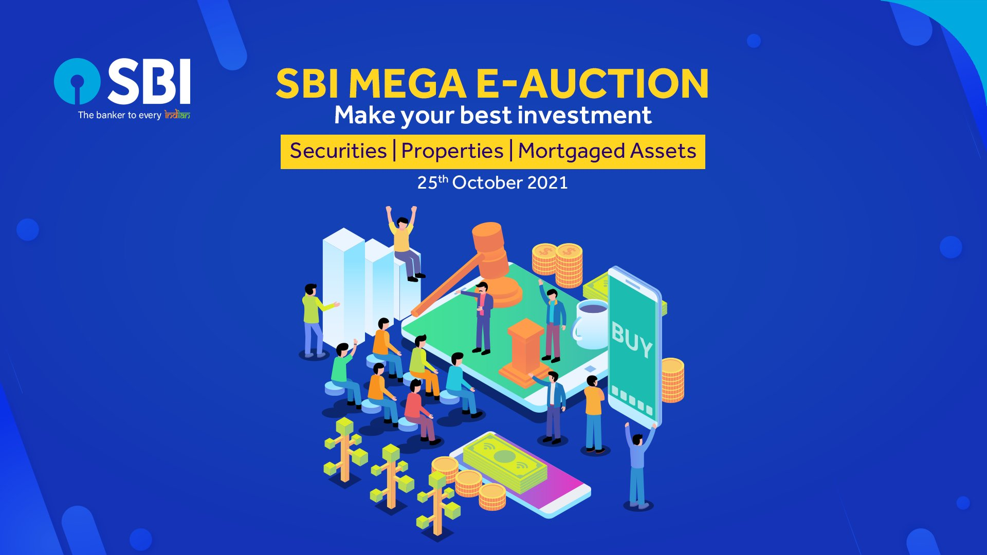 SBI puts up properties for e-auction