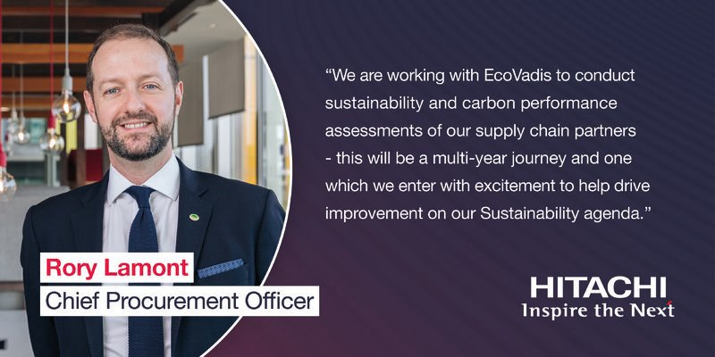 Following our  @ecovadis partnership announcement, we will shortly begin inviting our suppliers to register via our EcoVadis platform.  This initiative is a key part of our Sustainable Procurement agenda & our commitment to achieve netzero by 2050.  ▶️ https://t.co/GLdFXEeG4X https://t.co/tKldsZrYF1