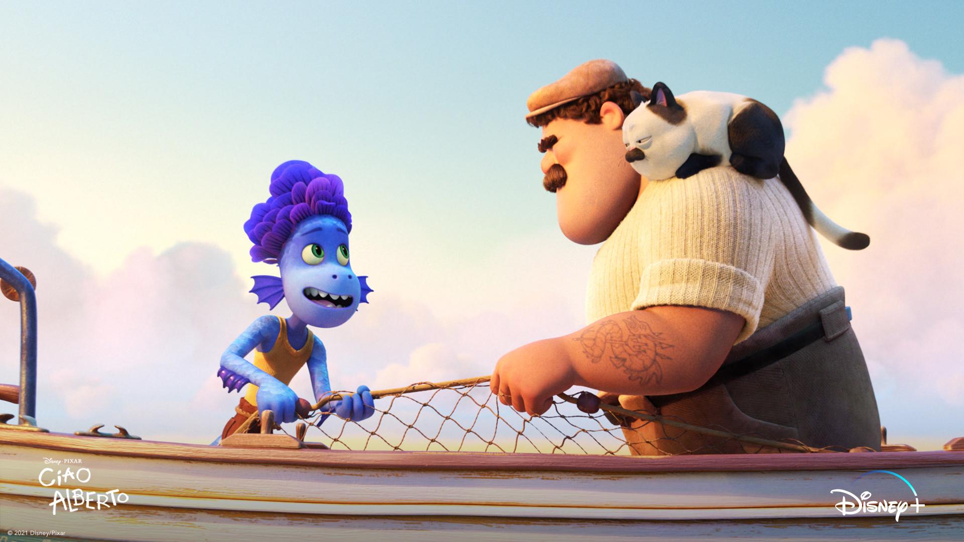 """Pixar divulga a primeira imagem do curta """"Ciao Alberto"""""""