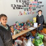 Our new Year 6 Charity Representatives have been blown away by the generosity of our parents at Surbiton Girls Prep for our Harvest collection for @SPEARLondon. We use this time to give thanks for all that we have 🧺