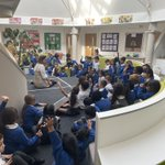 Image for the Tweet beginning: KS1 are enjoying an assembly