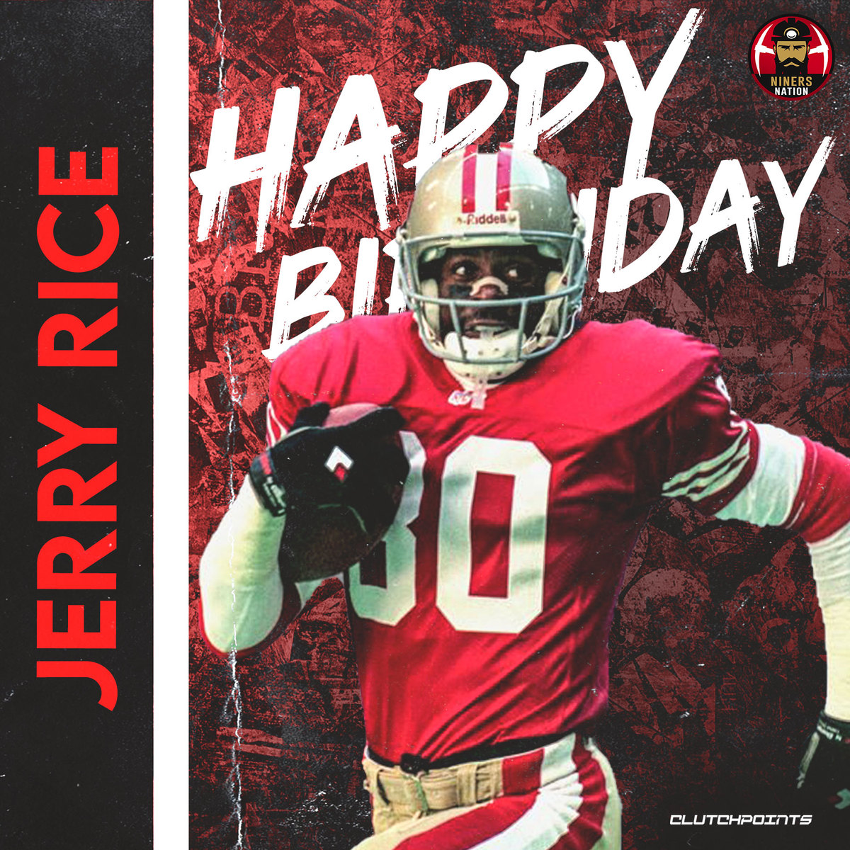 Let s not forget to greet the man, the myth, the legend, Jerry Rice a happy 59th birthday!