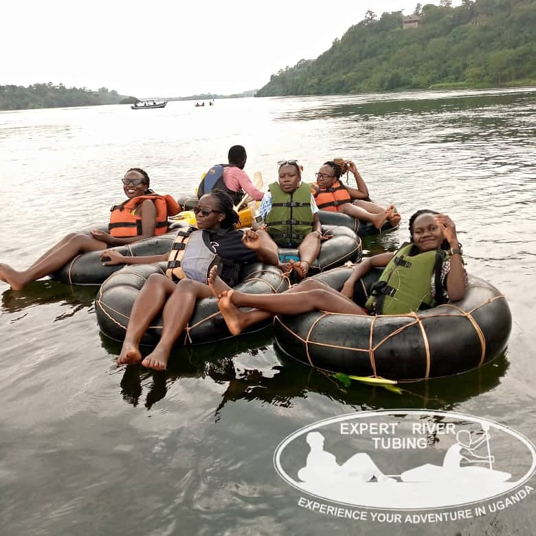 Dont get left behind!  Join this water filled adventure in Jinja that you will live to tell🤩 because #Adventurestartshere.  #RiverTubing #Escape #VisitUganda #nature #naturephotography #ExperienceUganda #TulambuleUganda