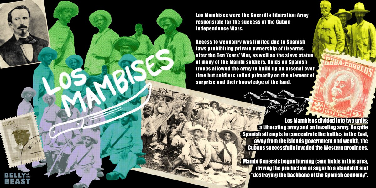 Yesterday, we announced our History #FromUnderTheEmpire series and today there's more! We'll be giving you some of the star players from each period. First up: LOS MAMBISES