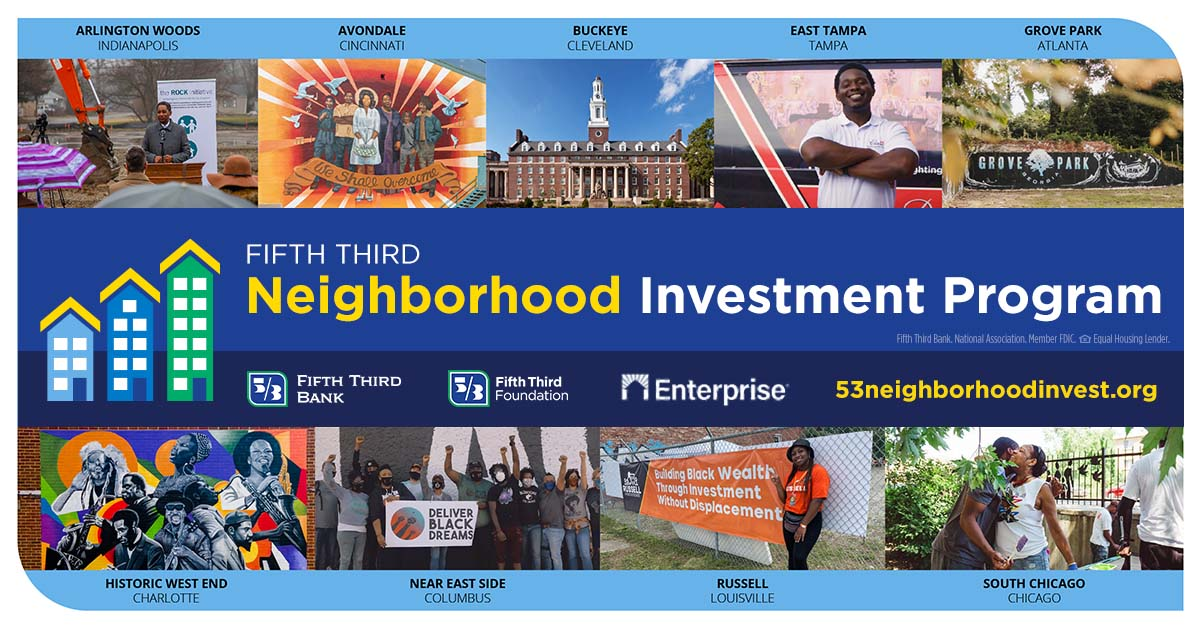 Congratulations to our partners @EnterpriseNow on the launch of this major #EcnomicMobility initiative in partnership with @FifthThird!
