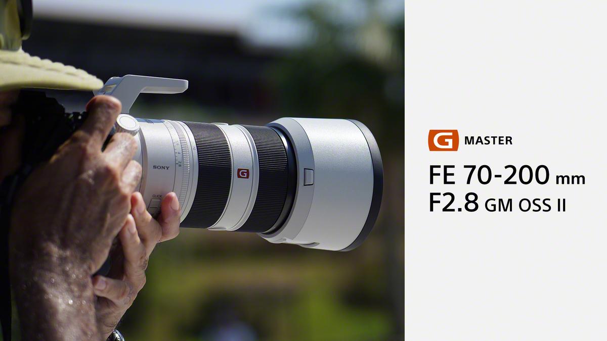 Un'ottica dall'apertura ampia, ma estremamente leggera, per foto e video: scopri il nuovo obiettivo Full-Frame Sony FE 70-200 mm F2.8 GM OSS II #SonyLens #SonyGMaster https://t.co/x5kJpJ3DhV
