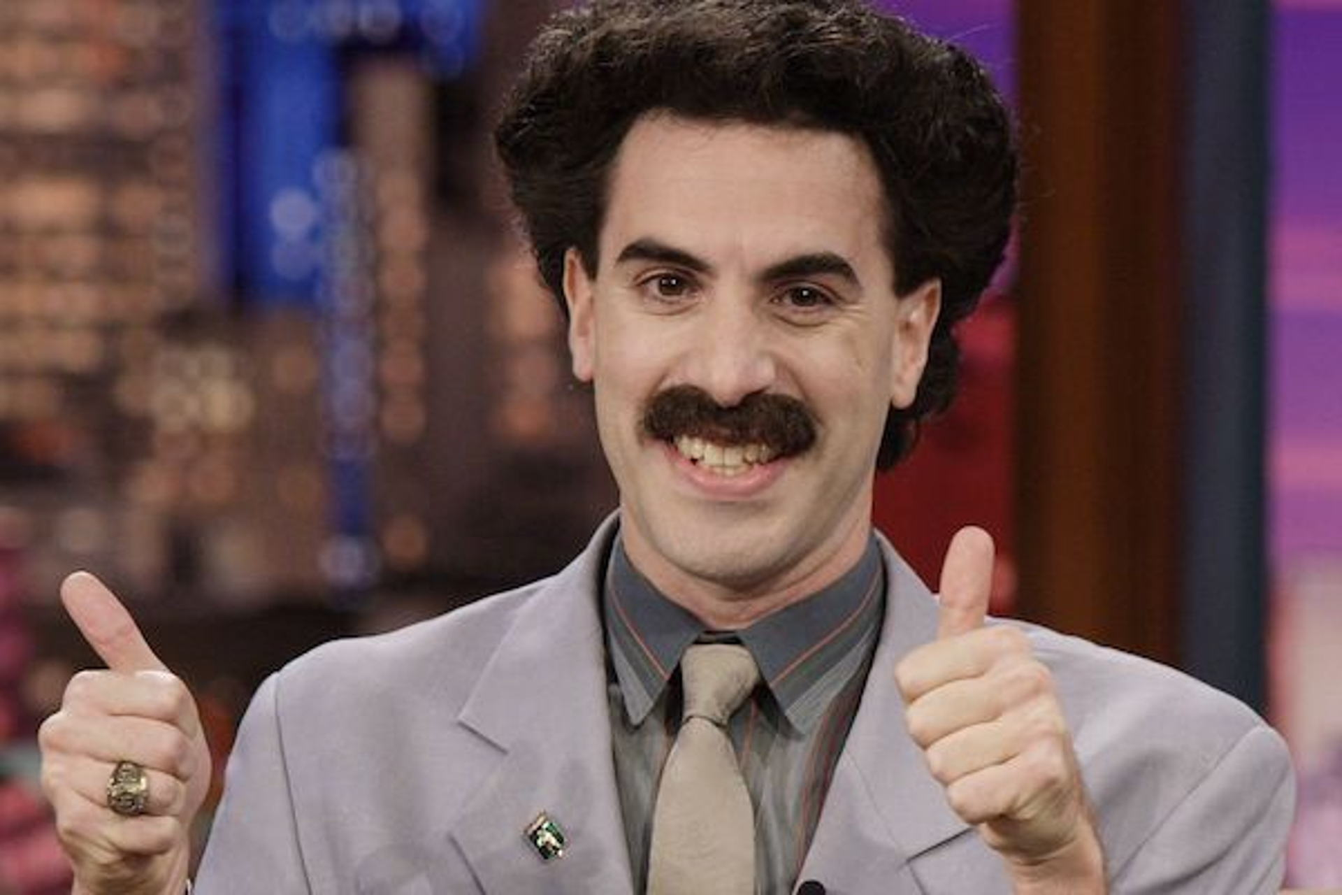 Borat turns 50 today! Great success! Happy Birthday Sacha Baron Cohen, GenX comedian and actor.