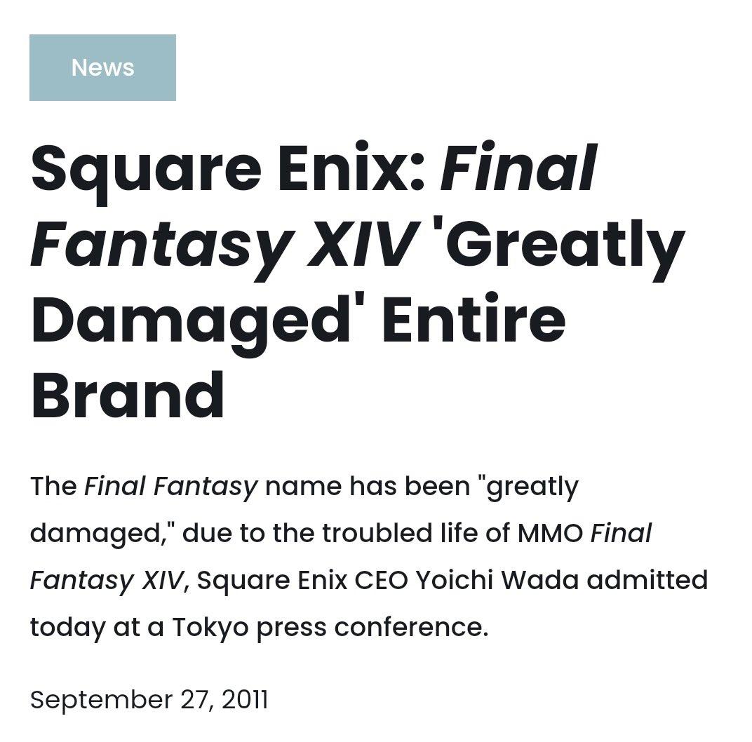 Fw: [閒聊] FF14成系列獲利最高遊戲