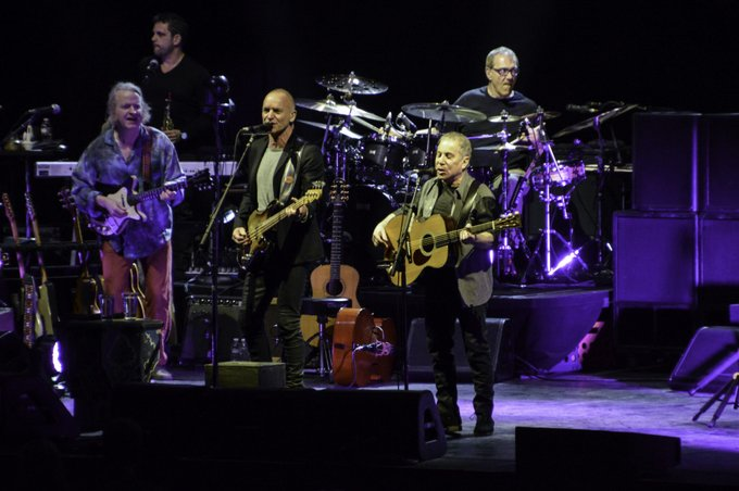 Happy birthday Revisit his 2014 concert with Sting