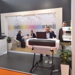 Image for the Tweet beginning: Second day at @FESPA Global