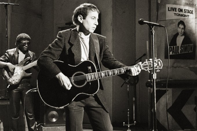 A very Happy Birthday to Paul Simon who is 80 today. Hoping your still crazy after all these years!