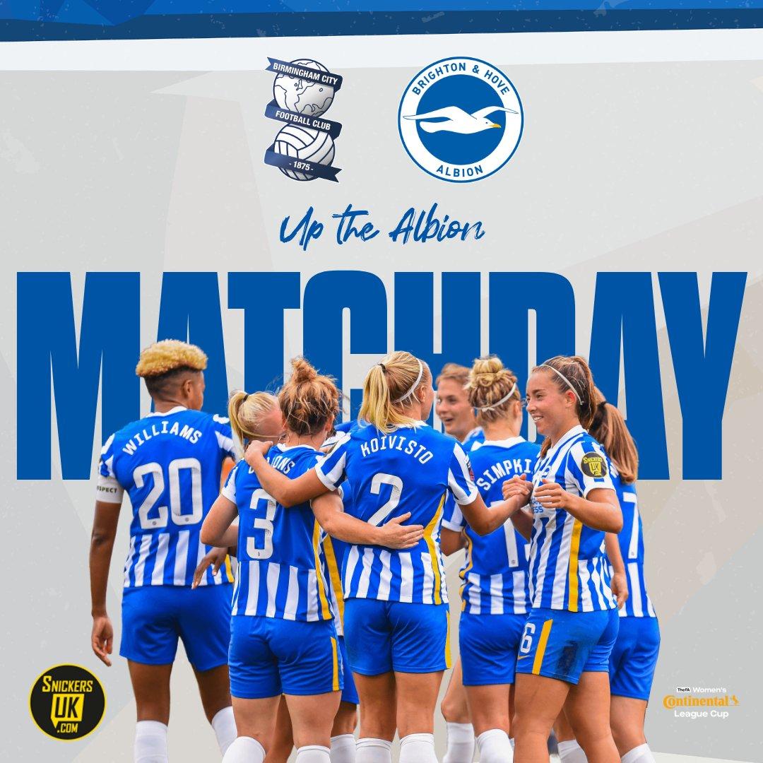 Kadın takımımız, @ContiUK Cup ilk maçında bu akşam saat 21:30'da Birmingham City deplasmanına çıkıyor.