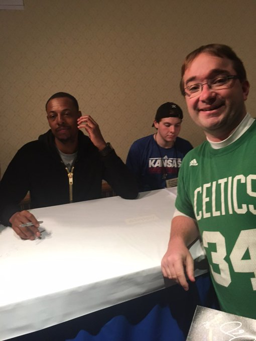 Happy birthday Paul Pierce and thank you for the greatest photo ever taken