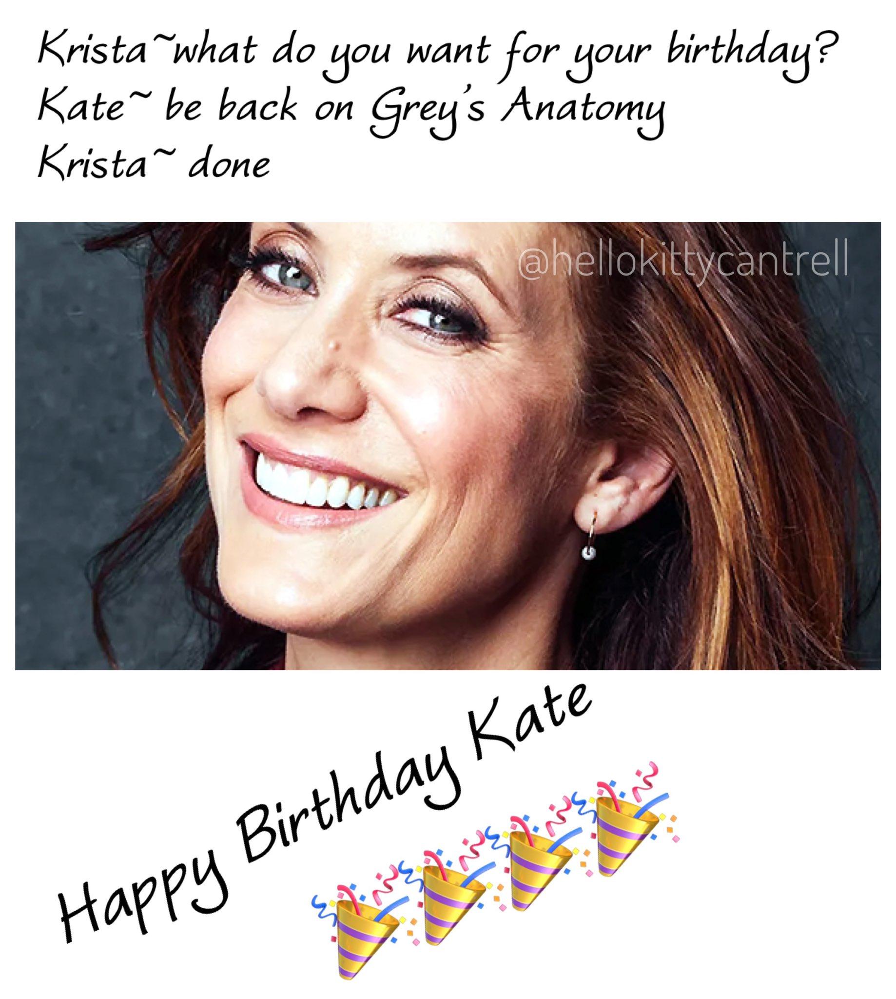 Happy Birthday Kate Walsh