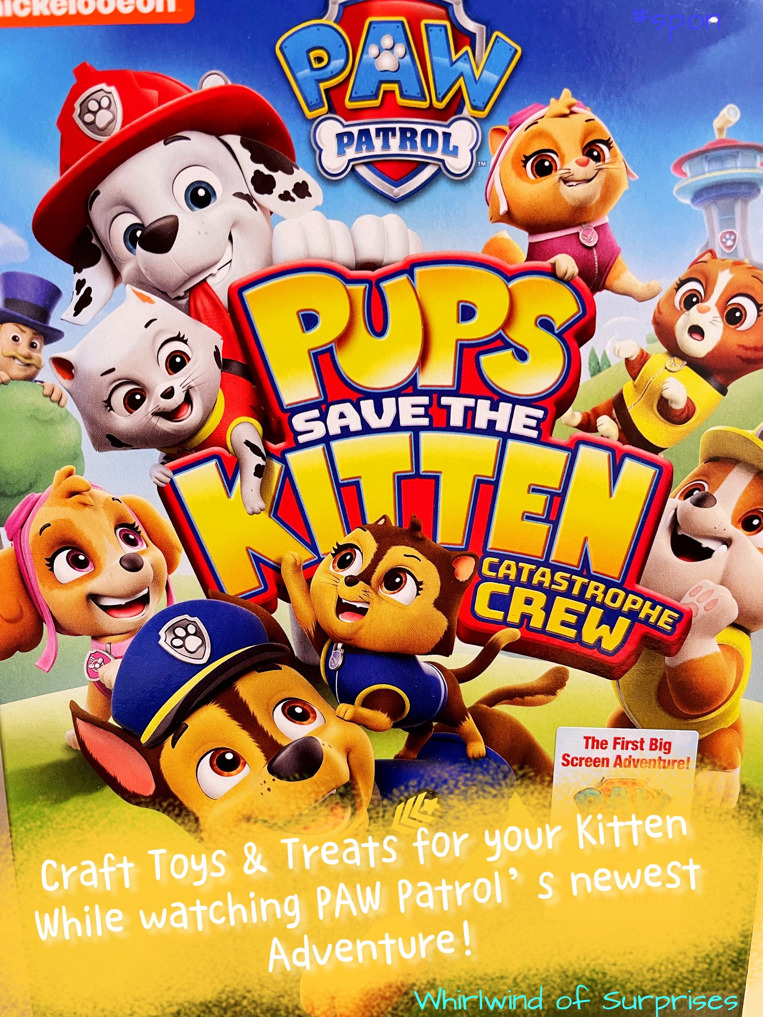 PAW Patrol: Pups Save the Kitten Catastrophe Crew Review