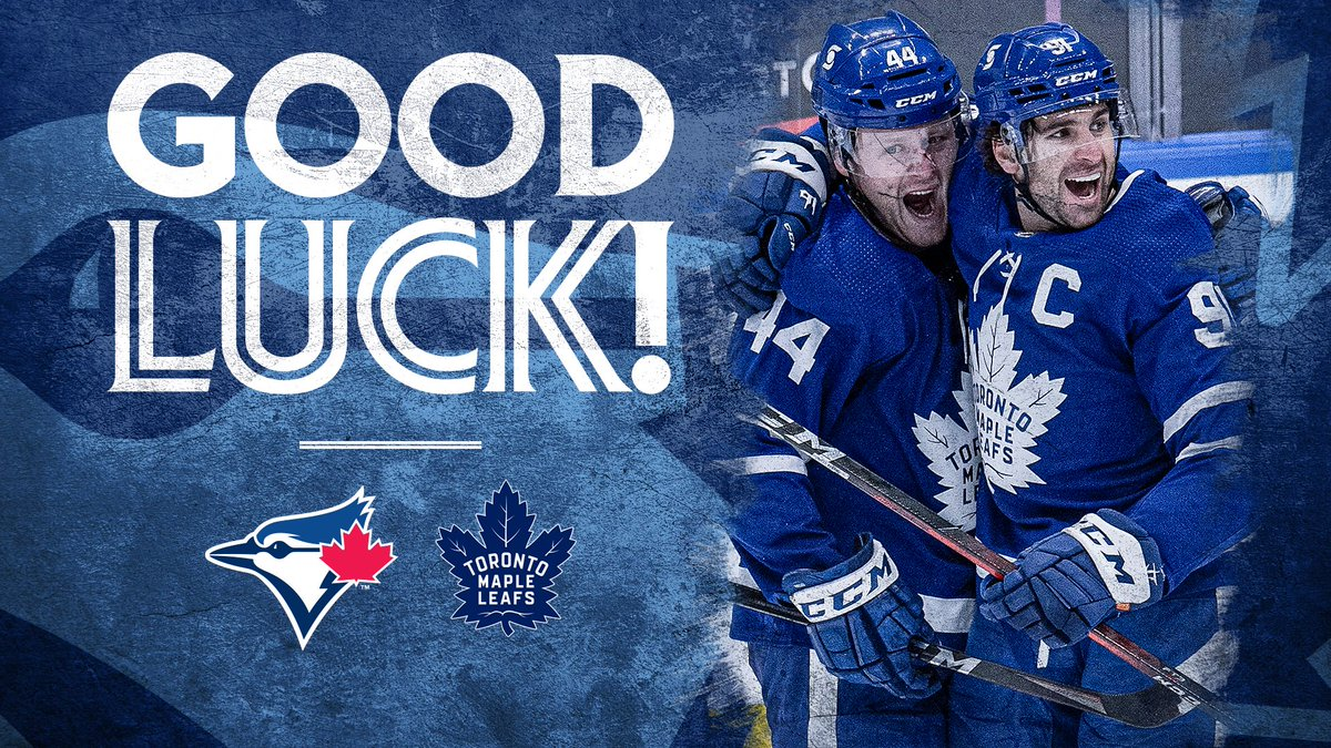 Welcome back, Buds! Good luck this season, @MapleLeafs!