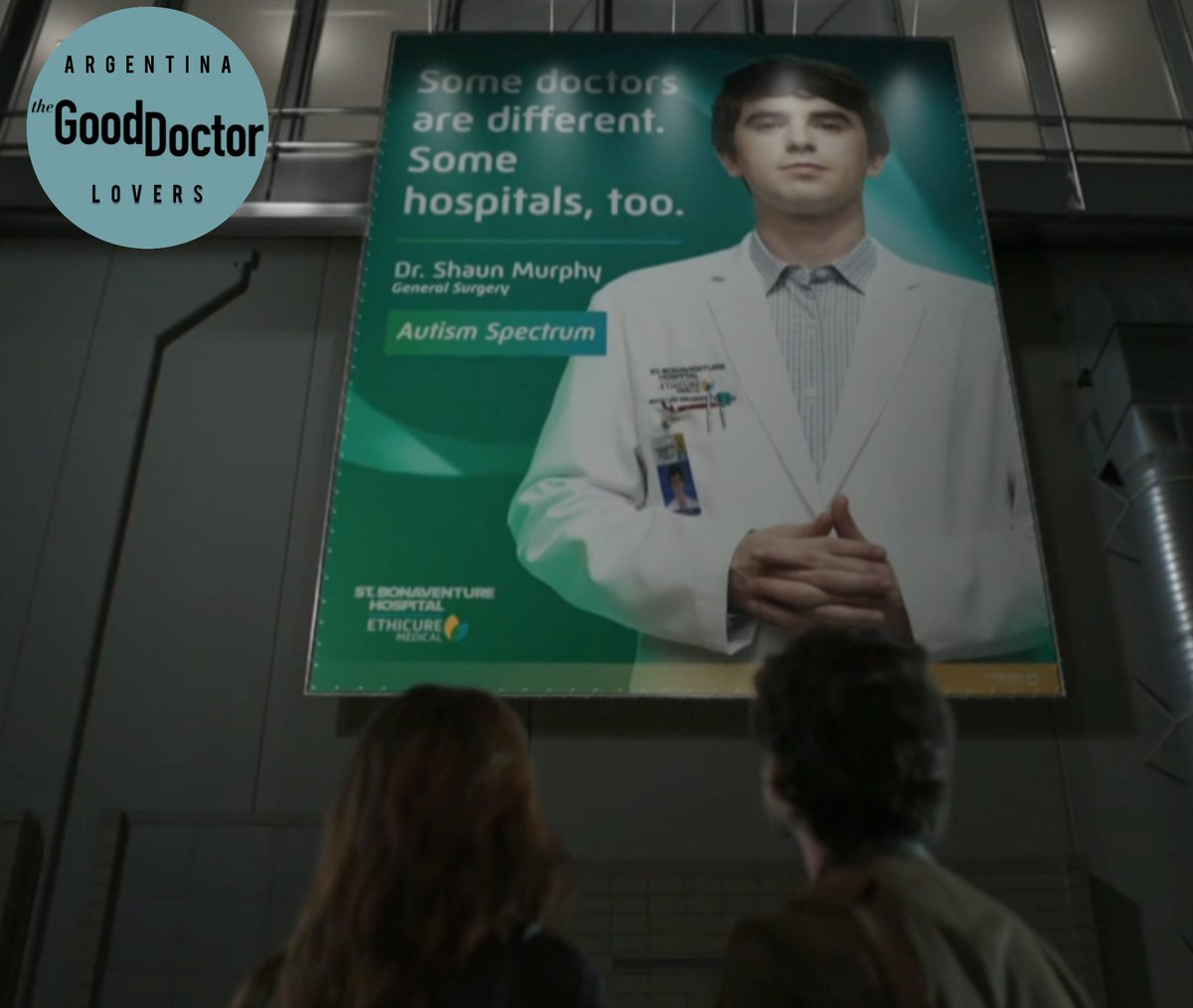 #TheGoodDoctor fans. Let's talk about the last episode, specially  how little our love for #SalenMorrison lasted. It lasted until we saw the sign. From that moment we realized that this is not gonna be easy. What do you think?  @GoodDoctorABC  @gooddrwriters  @SPTV  @SLfrom