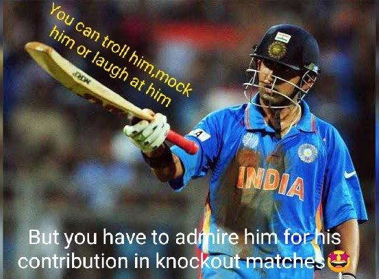 Happy Birthday Gautam Gambhir - Man of big matches