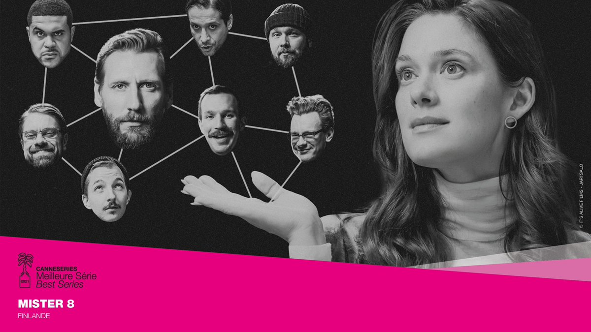 test Twitter Media - RT @CANNESERIES: Competition Best Series Compétition - Meilleure Série 🏆Mister 8 (Finland) #CANNESERIES https://t.co/RtFkUulvW7