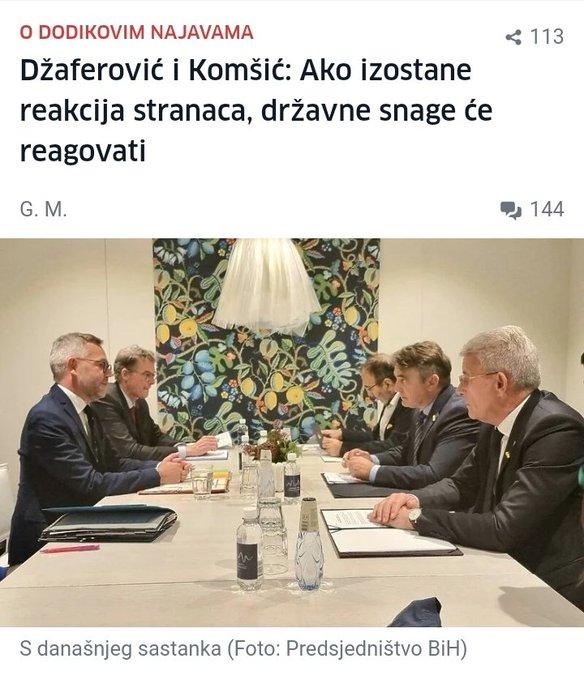 Dodik: E drago mi je što rušim Bosnu FBme7NzXoAEqNPA?format=jpg&name=small