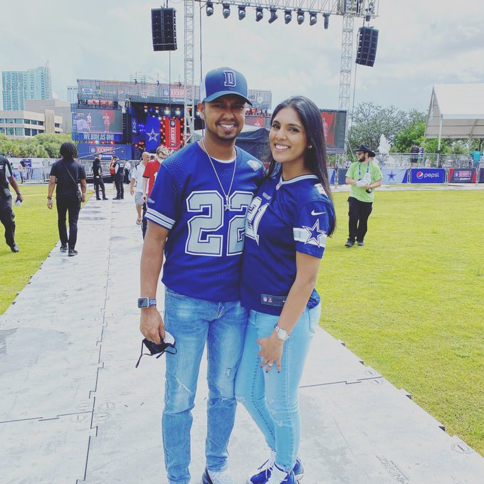 Happy bday to my beautiful wife and to jerry Jones!!!!