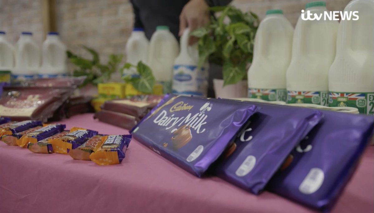 On News at Ten tonight, an investigation by @itvnews, @TBIJ & @UE reveals the everyday dairy products linked to deforestation in Brazil.